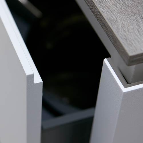 Küchen-Schreiner-Meier- Detail Grifflose Küchen