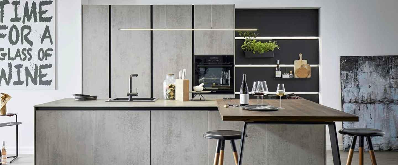 Grifflose Küchen bei Küchen-Schreiner-Meier