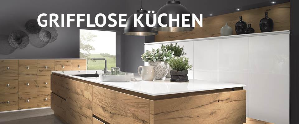 Küchen-Schreiner-Meier- Grifflose Küchen
