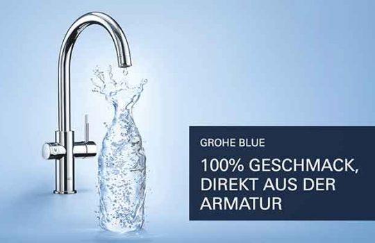 GROHE BLUE und GROHE RED – Wassersysteme