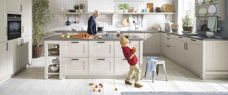 Landhaus-Küchen bei Küchen-Schreiner-Meier