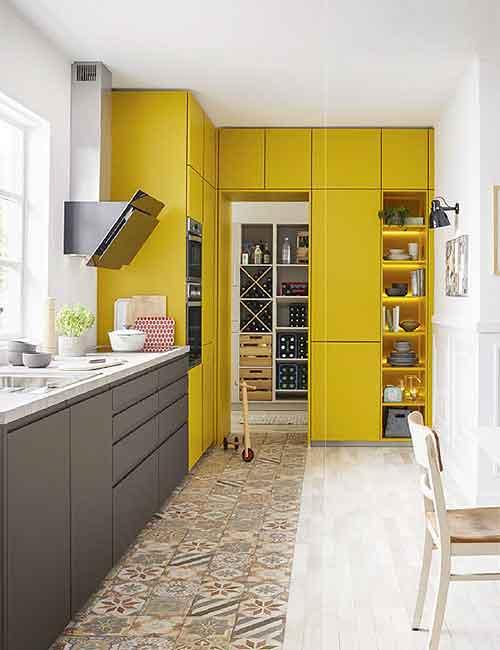 Schüller - Küche Yellow