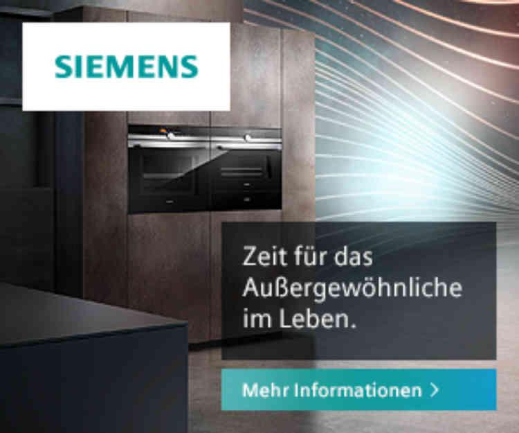 Siemens Markenwelt bei Küchen-Schreiner-Meier